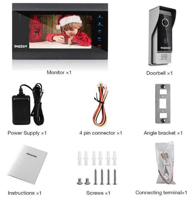 Tmezon Videocitofono Wireless