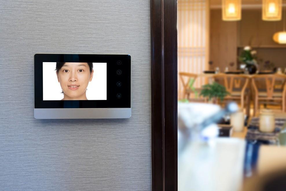 Videocitofono wireless soggiorno