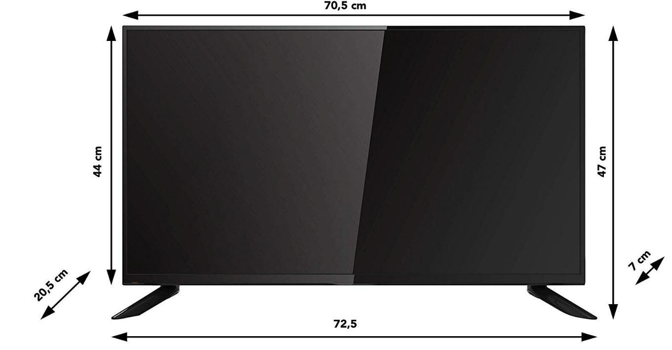 RCA Tv 32 Pollici rb32h1 misure