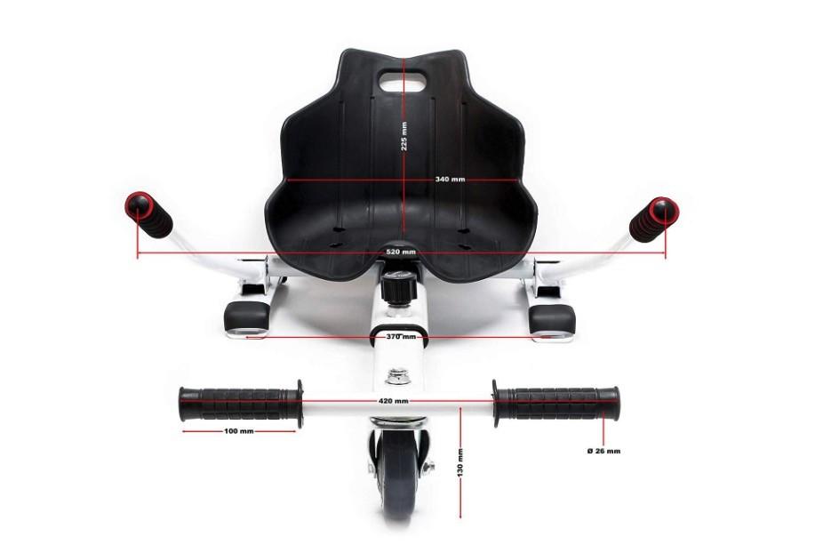 Carrello per hoverboard