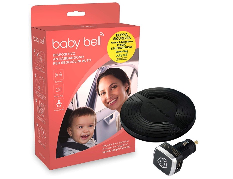 Dispositivo Anti Abbandono Still Mate Baby Bell
