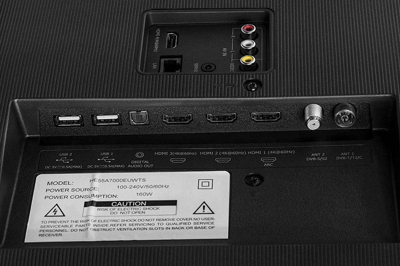 Smart Tv Hisense H50U7BE 50 pollici